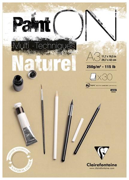 PaintON Pad Natural A3 30sh -