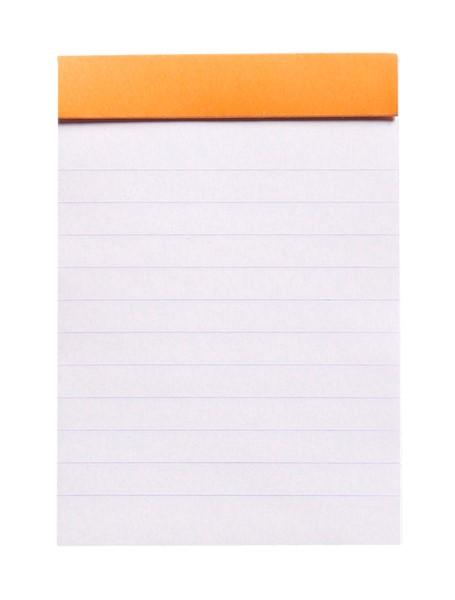Rhodia Bloc Pad No. 11 A7 Lined Orange -