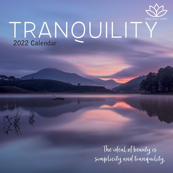 2022 Square Calendar Tranquility -