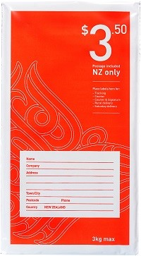 NZ Post - Size 1 Postage Included Flat Bag DL  - pr_1772770