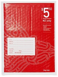 NZ Post - Size 2 Bubble Postage Included Flat Bag C5  - pr_1772774