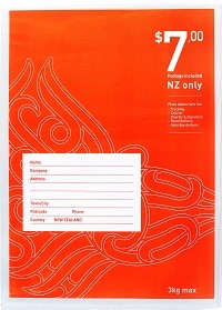 NZ Post - Size 4 Postage Included Flat Bag FS  - pr_1772775