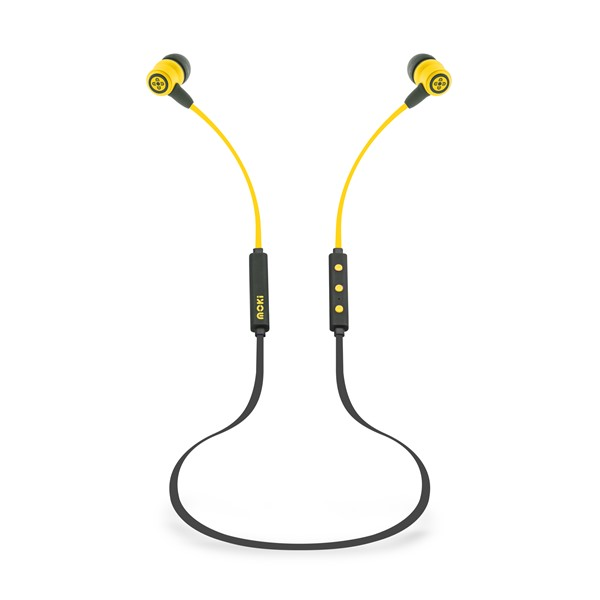 EARPHONE MOKI FREESTYLE BLUETOOTH YELLOW - pr_1775546