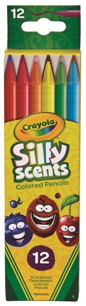 Crayola Silly Scents Twist Coloured Pencils -