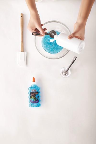 Elmers Glitter Glue - Blue 177ml -