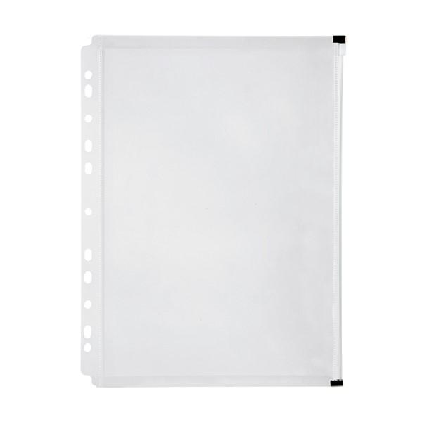 Marbig Zip Binder Wallet A4 Clear -