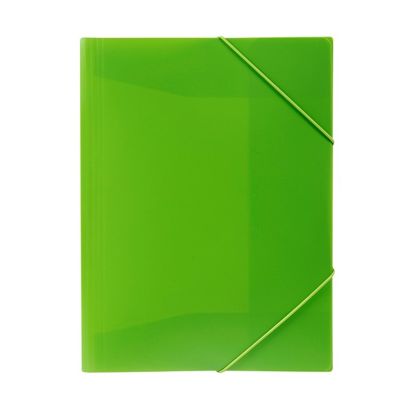Marbig Document Wallet A4 Brights Lime - pr_1702753
