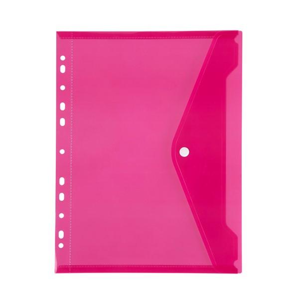Document Wallet Marbig with Binder Side Open Pink - pr_1702232
