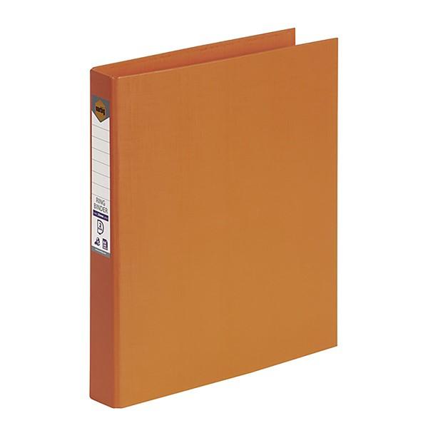 Marbig Ringbinder A4 PE 2D Ring 25mm Orange - pr_1702141