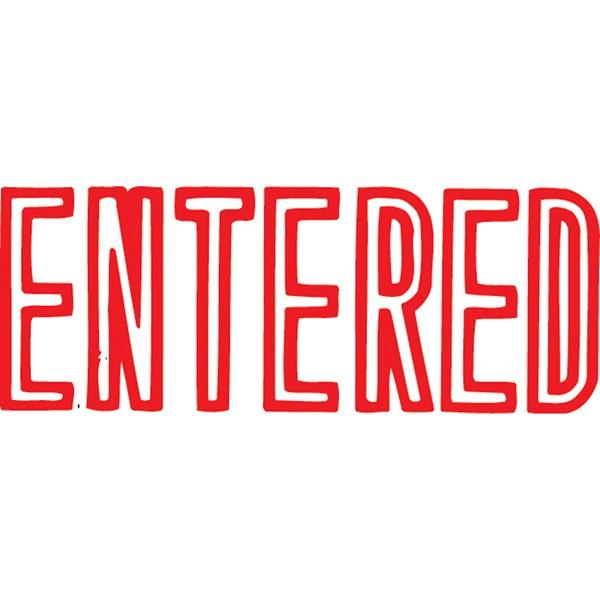 XStamper VX-B 1021 Entered Red -