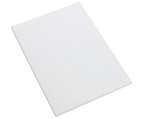 Marbig Office Writing Pad Ruled A4 100 Leaf -