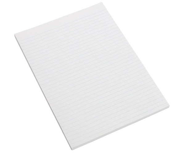 Marbig Topless Writing Pad Ruled A4 100 Leaf - pr_1702121
