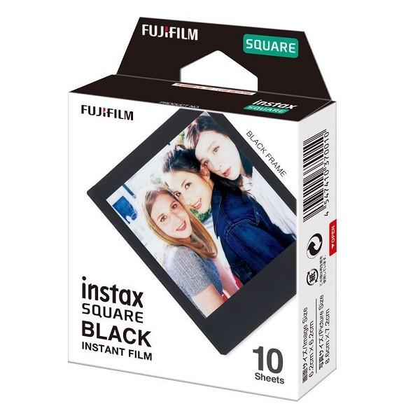 Fujifilm Instax Square Film Black 10 Pack - pr_1699556