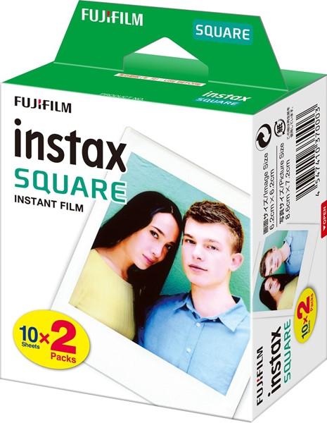 Fujifilm Instax Square Film 20 Pack -