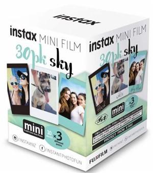 Fujifilm Instax Mini Film Sky 30 Pack -