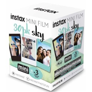 Fujifilm Instax Mini Film Sky 30 Pack
