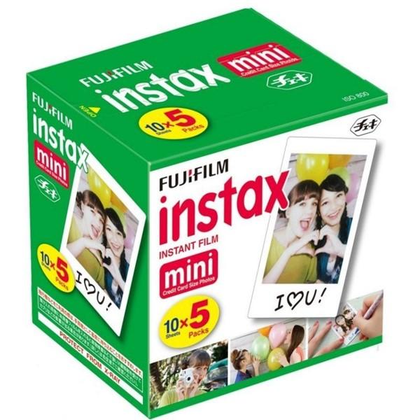 Fujifilm Instax Mini Film 50 Pack -