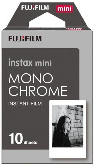 Fujifilm Instax Mini Film Monochrome 10 Pack -