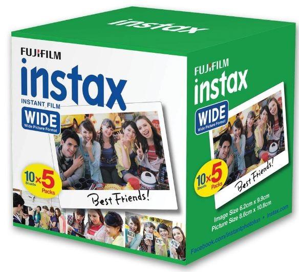 Fujifilm Instax Wide Film 50 Pack -