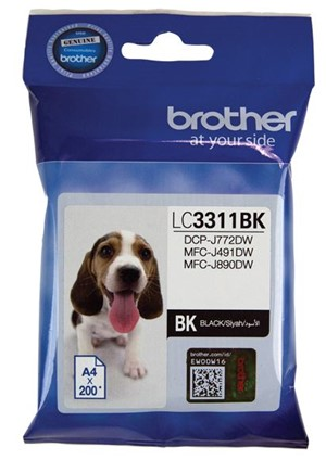 Brother Ink Cartridge LC3311BK Black -