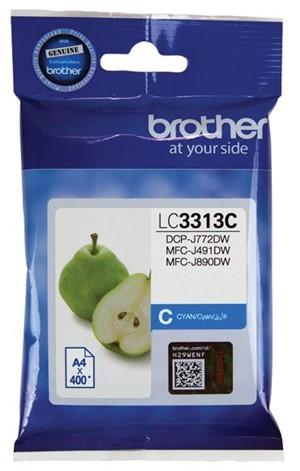 Brother Ink Cartridge LC3313C Cyan -