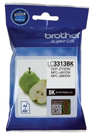Brother Ink Cartridge LC3313Bk Black -