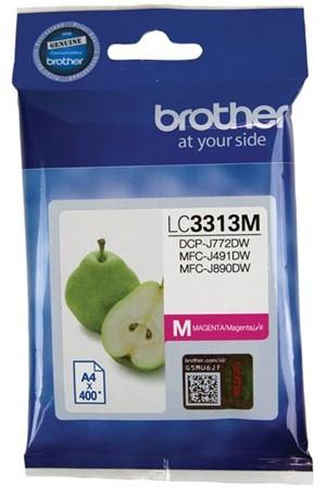 Brother Ink Cartridge LC3313M Magenta -