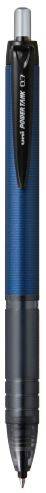 Uni Powertank 0.7mm Retractable Navy Barrel SN-210PT Black  -