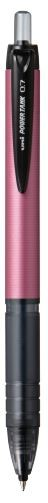 Uni Powertank 0.7mm Retractable Pink Barrel SN-210PT Black  -