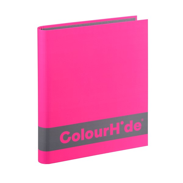 Colourhide Silky Touch Binder A4 25mm Pink - pr_1702058