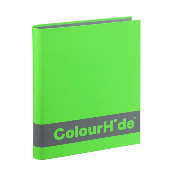 Colourhide Silky Touch Binder A4 25mm Green - pr_1702789
