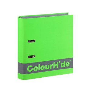 Colourhide Silky Touch Lever Arch A4 70mm Lime