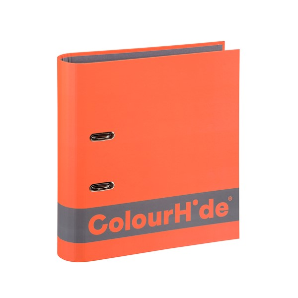 Colourhide Silky Touch Lever Arch A4 70mm Orange - pr_1702345