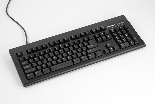 Fellowes Basic 104 USB Keyboard with Microban -