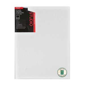 """Jasart Studio Stretched Canvas 1 1/2"""" Thick Edge 12x16"""""""
