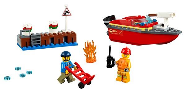LEGO City - Dock Side Fire - pr_426801