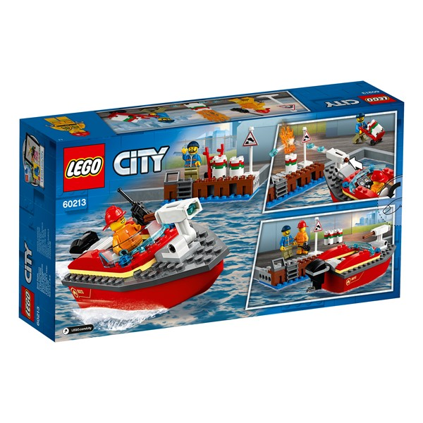 LEGO City - Dock Side Fire - pr_426805