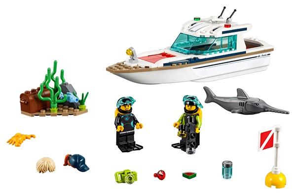 LEGO City - Diving Yacht - pr_426815