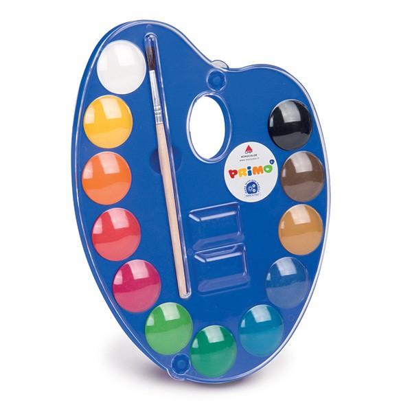 Primo Watercolour Tablets 25ml Set 12 -