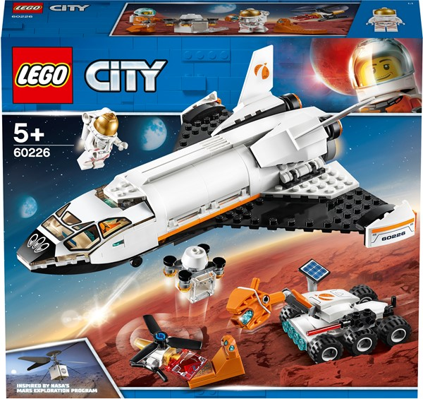 LEGO City - Mars Research Shuttle - pr_427014