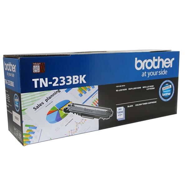 Brother TN-233BK Black Toner Cartridge -