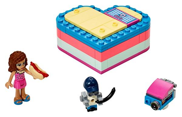 LEGO Friends - Olivia's Summer Heart Box - pr_427073