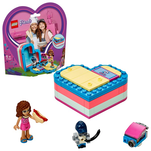 LEGO Friends - Olivia's Summer Heart Box - pr_427076