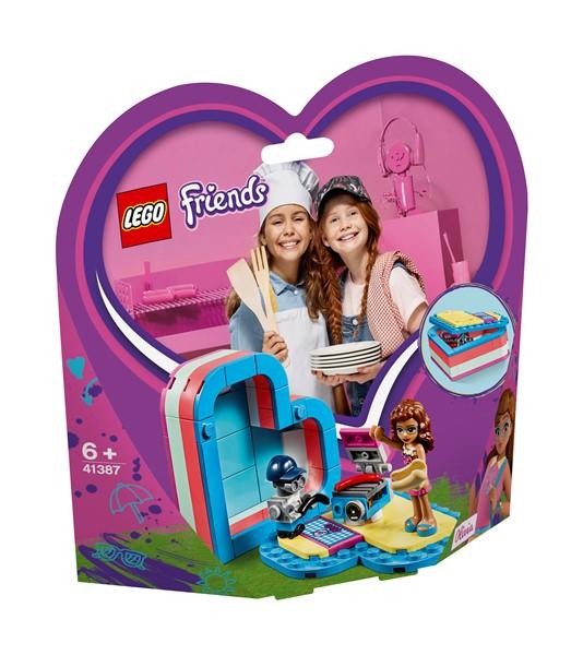 LEGO Friends - Olivia's Summer Heart Box - pr_427074