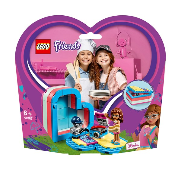 LEGO Friends - Olivia's Summer Heart Box - pr_427077