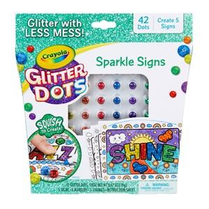 Crayola Glitter Dots - Sparkle Signs