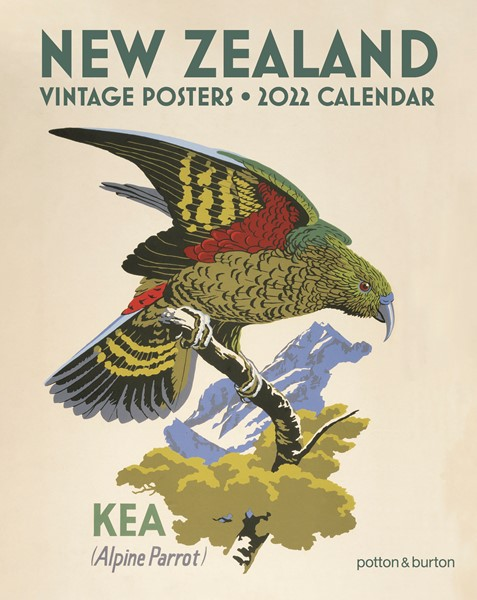 2022 Calendar NZ Vintage Posters Small -