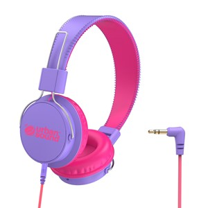 Verbatim Headhphones Kids Urban Sound Purple/Pink