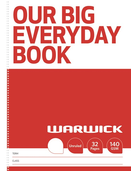 Warwick FSC Mix 70% Our Big Everyday Modelling Book 32 Page - pr_1851982