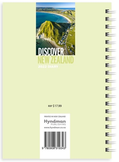 Discover New Zealand 2022 Diary -